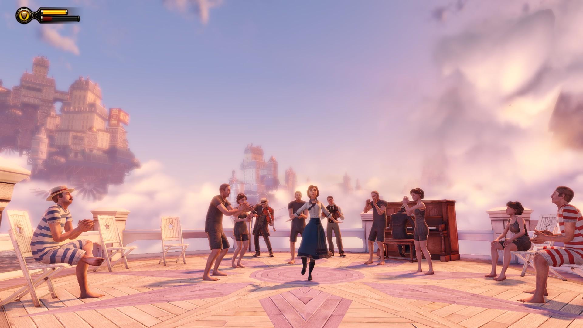 Welcome to the utopian microcosm of Battleship Bay ... or ...