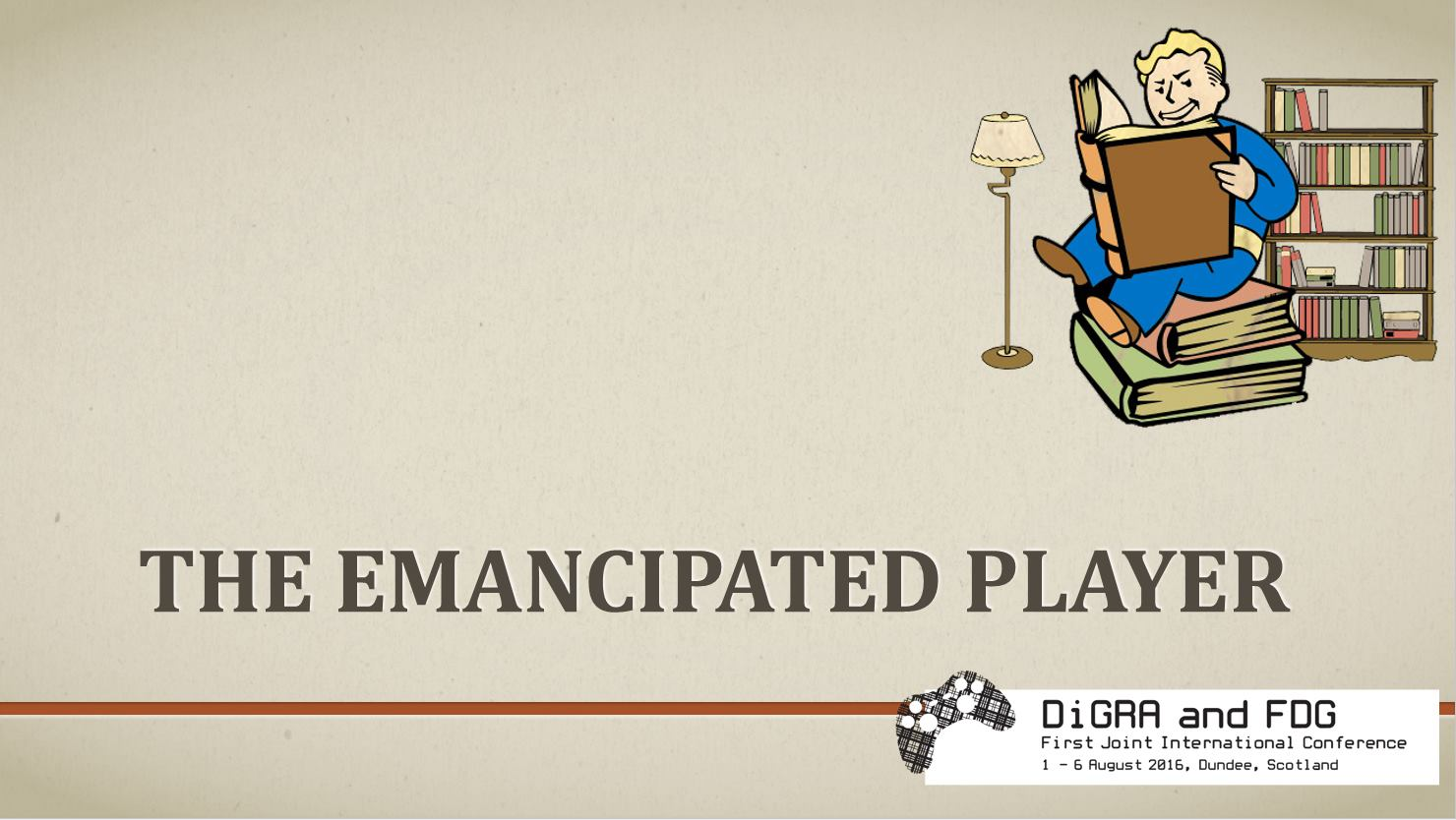 The Emancipated Player