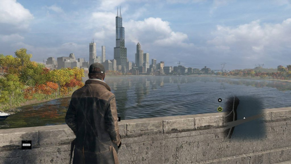 The city of Chicago awaits the player for trial action.
