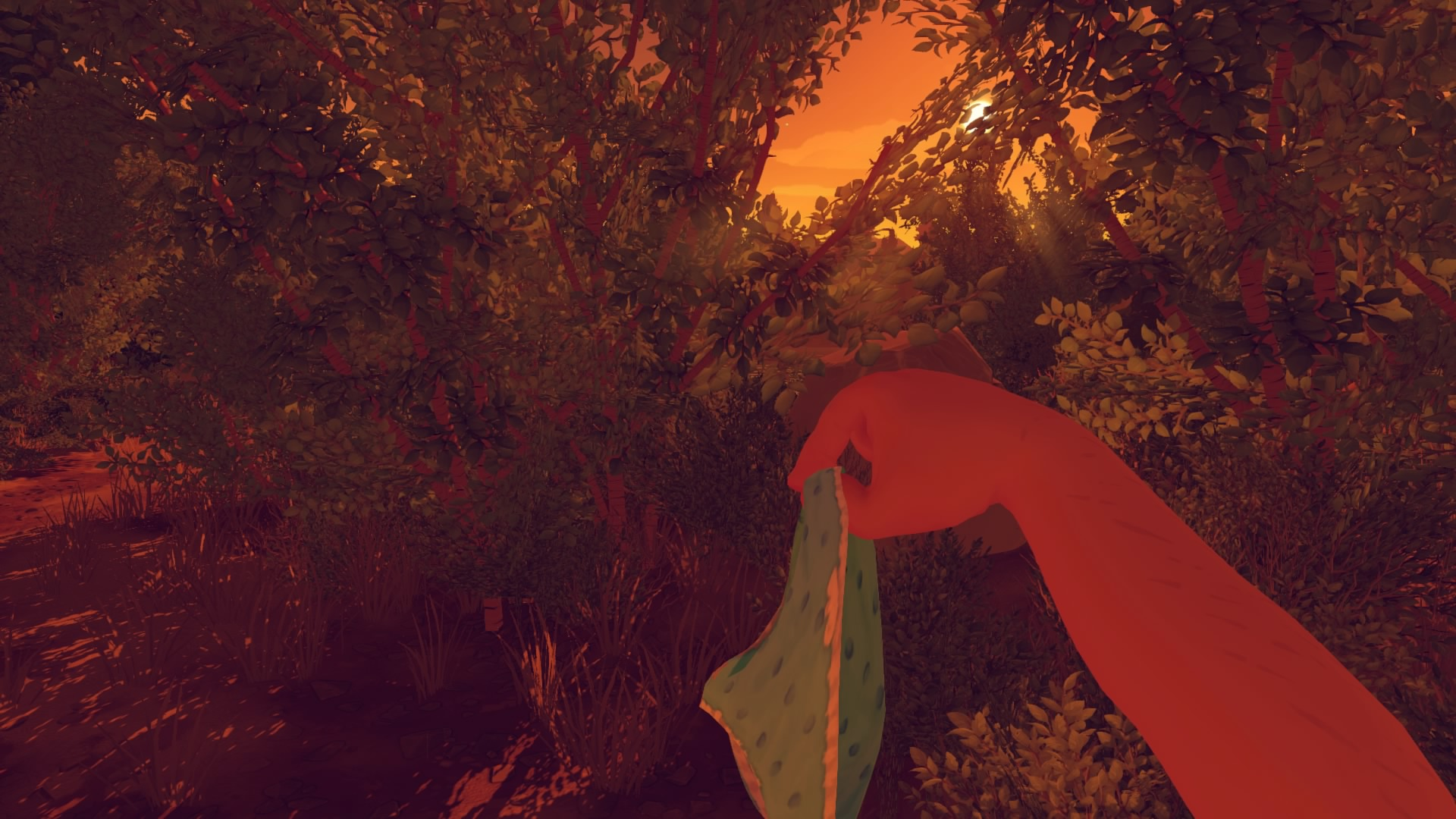 Video game tourism e04 nature and the sublime in firewatch various symbols and signs trigger imaginings of most exciting nature in the player biocorpaavc Choice Image