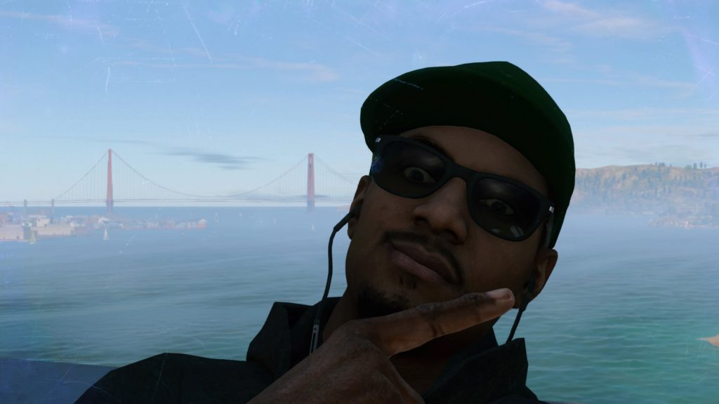 Golden Gate II: isn#t it a perfect selfie;)