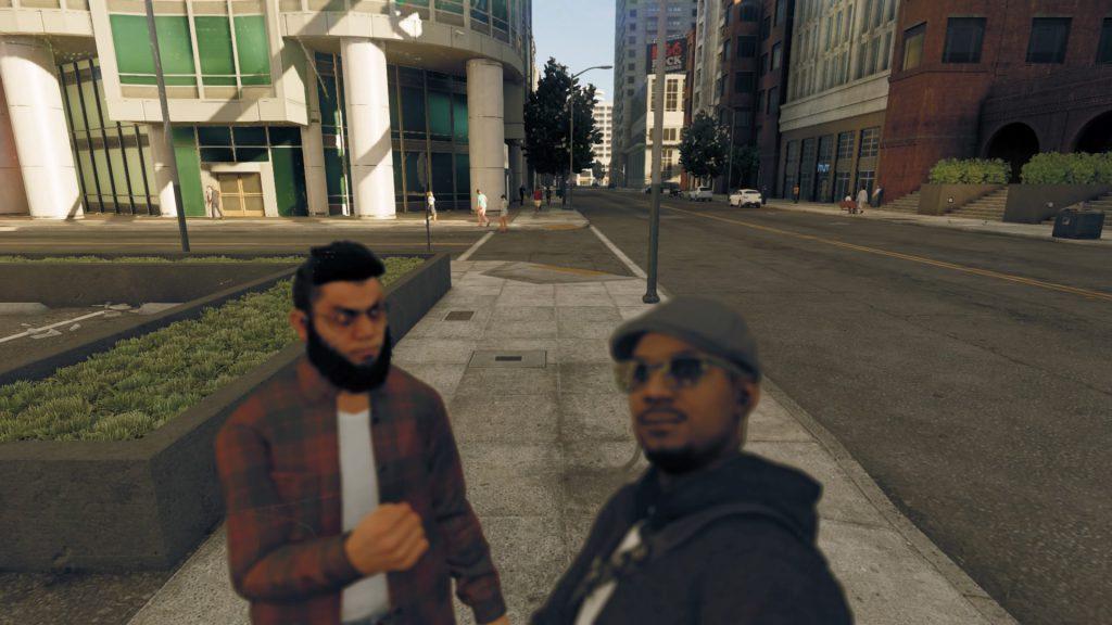 met an angry guy!
