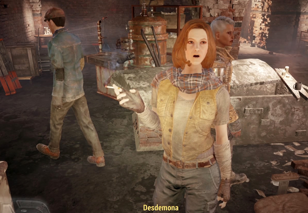 Fallout 4 Underground Railroad