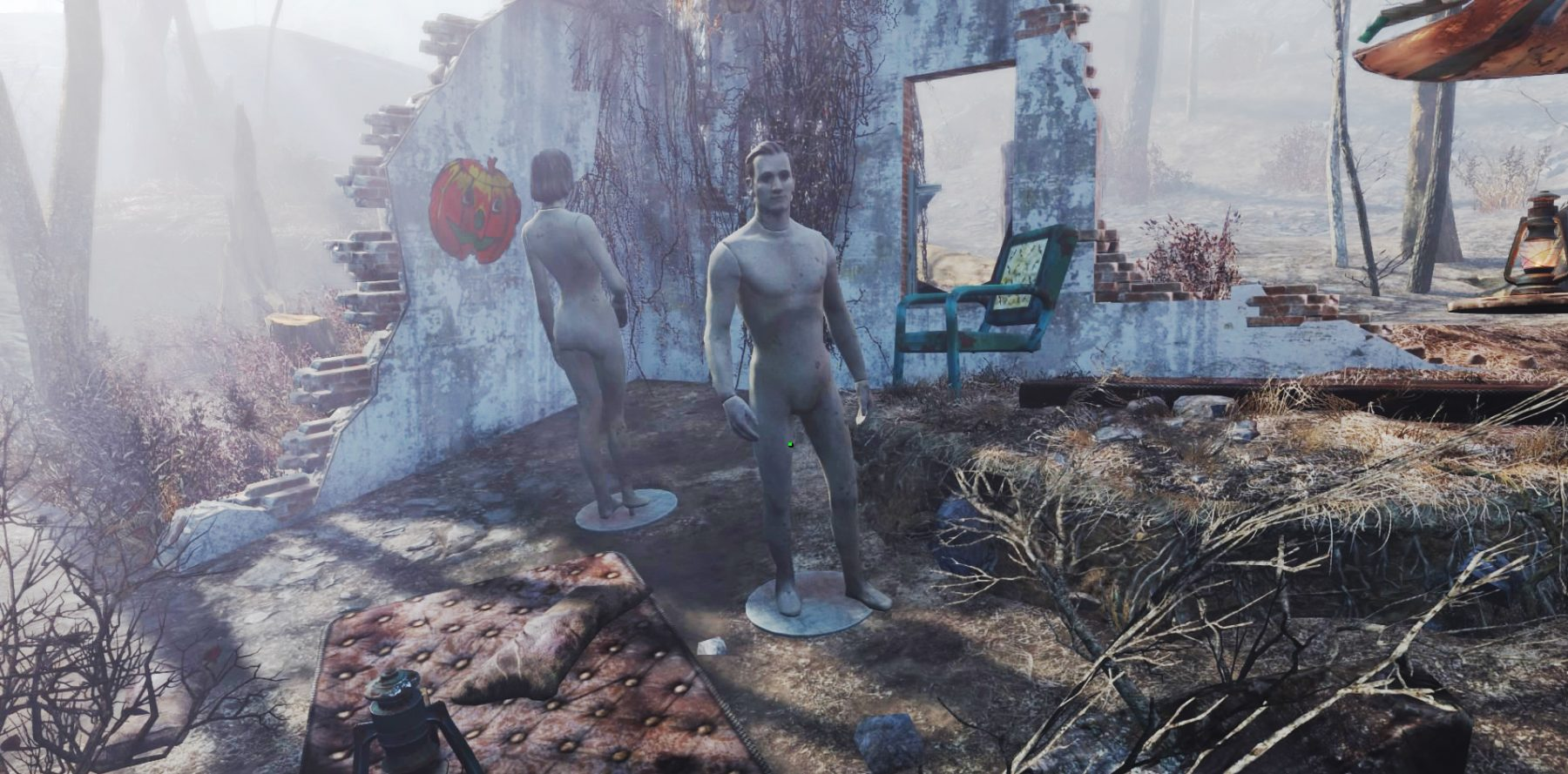 Fallout 4 and androids